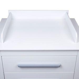 Wickelkommode mit drei Schubladen und Sicherheitsrand – Bild 6