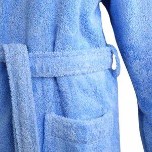Bademantel Morgenmantel Saunamantel Kimono flauschig warm elegant Wellness Sauna S-XL in 7 Farben - 100% Baumwolle Frottee Kimono Bathrobe – Bild 19