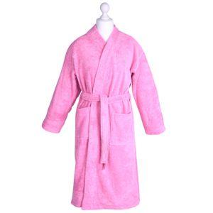 Bademantel Morgenmantel Saunamantel Kimono flauschig warm elegant Wellness Sauna S-XL in 7 Farben - 100% Baumwolle Frottee Kimono Bathrobe – Bild 5
