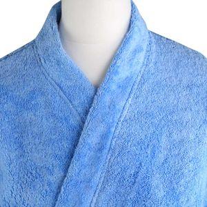 Bademantel Morgenmantel Saunamantel Kimono flauschig warm elegant Wellness Sauna S-XL in 7 Farben - 100% Baumwolle Frottee Kimono Bathrobe – Bild 18