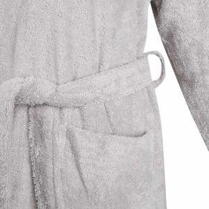 Bademantel Morgenmantel Saunamantel Kimono flauschig warm elegant Wellness Sauna S-XL in 7 Farben - 100% Baumwolle Frottee Kimono Bathrobe – Bild 12