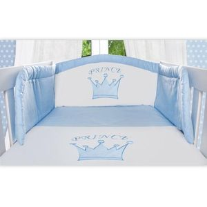 8-tlg. Babybettset von Prince inkl. Betttasche – Bild 3