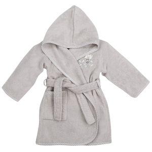 Babybademantel Kinderbademantel kuschelig flauschig warm mit Applikation und Kapuze in 4 Farben - 100% Größe 80 Baumwolle Baby Bathhood – Bild 5