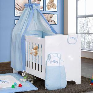 Bettset Baby Bettwäsche Himmel Nestchen Schleife mit Stickerei 100x135 Neu – Bild 24