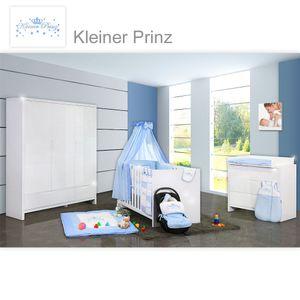 Babyzimmer Kinderzimmer Luiy Weiss mit 2 oder 3 türigem Schrank. Auf Wunsch auch mit Textilien – Bild 21