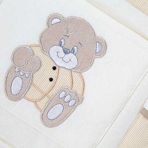 13-tlg. Bettsetpaket von Memi Bear in beige – Bild 6