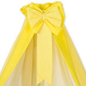 7-tlg. Bettsetpaket Sleeping Bear in gelb inkl. Schlafsack und Wickelauflage – Bild 2