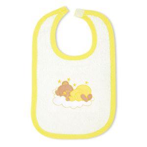 7-tlg. Bettsetpaket Sleeping Bear in gelb inkl. Schlafsack und Lätzchen – Bild 8