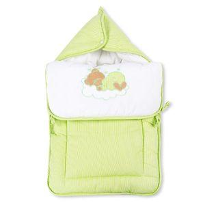 7-tlg. Bettsetpaket Sleeping Bear in grün inkl. Fußsack und Lätzchen – Bild 8