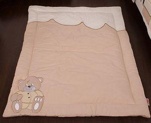 8-tlg. Bettsetpaket Memi Bear inkl. Krabbeldecke, Decke + Kissen – Bild 5
