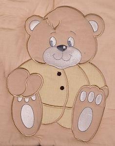 8-tlg. Bettsetpaket Memi Bear inkl. Spannbettlaken, Decke + Kissen – Bild 3