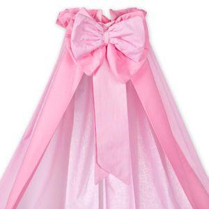 8-tlg. Bettsetpaket Prestij in rosa inkl. Lätzchen, Babybettdecke und Babykissen – Bild 2