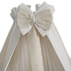 8-tlg. Bettsetpaket Prestij in beige inkl. Fußsack, Babybettdecke und Kissen – Bild 4