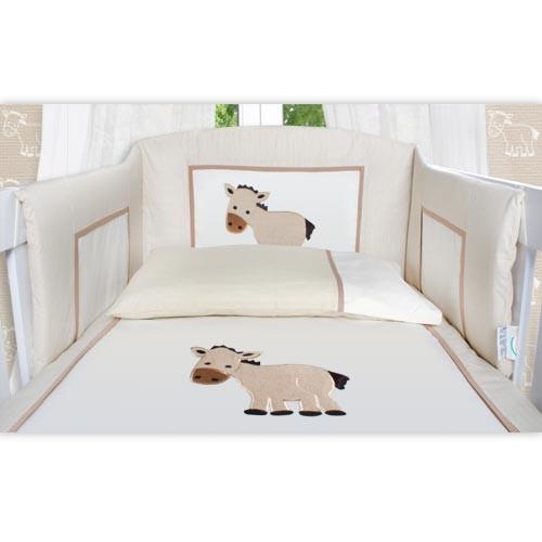 8 tlg bettsetpaket prestij in beige inkl himmelstange babydecke und kissen baby m bel babybett. Black Bedroom Furniture Sets. Home Design Ideas