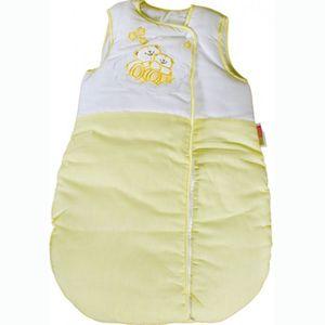 8-tlg. Bettsetpaket Enni Bear gelb inkl. Babyschlafsack, Babydecke + Kissen – Bild 3