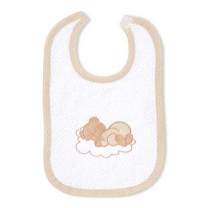 8-tlg. Bettsetpaket Sleeping Bear in beige inkl. Lätzchen, Decke und Kissen – Bild 7