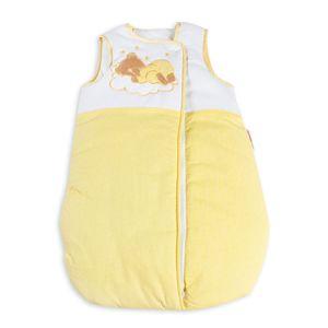 17-tlg. Set:Baby-u.Kinderbett NATURA Klassik Kiefer mit Bettkasten und Bettset Sleeping Bear gelb – Bild 4