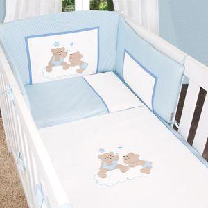 Babyzimmer Felix in akaziengrau 10 tlg. mit 2 türigem Kl. in Joy blau – Bild 8