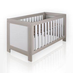 Babyzimmer Felix in akaziengrau 10 tlg. mit 2 türigem Kl. in Joy beige – Bild 3