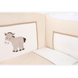 Babyzimmer Felix in akaziengrau 10 tlg. mit 3 türigem Kl. + Set Prestij beige – Bild 7
