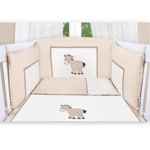 Babyzimmer Felix in akaziengrau 10 tlg. mit 3 türigem Kl. + Set Prestij beige – Bild 6