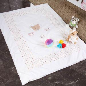 13-tlg. Bettsetpaket mit dem Motiv Cute Bear in rosa – Bild 13