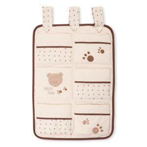 13-tlg. Bettsetpaket mit dem Motiv Cute Bear in beige – Bild 5