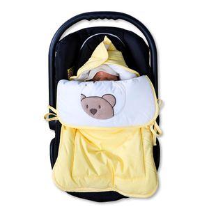 13-tlg. Bettsetpaket mit dem Motiv Little Bear in der Farbe Gelb – Bild 8