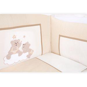 Babyzimmer Felix in akaziengrau 10 tlg. mit 3 türigem Kl. + Set Joy beige – Bild 7