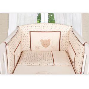 Babyzimmer Felix in akaziengrau 10 tlg. mit 2 türigem Kl. + Set Cute Bear Beige – Bild 7