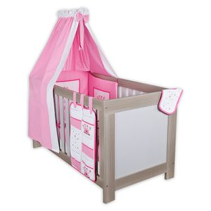 Babyzimmer Felix in akaziengrau 10 tlg. mit 2 türigem Kl. + Set Zauber Fee – Bild 2