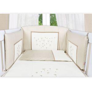 Babyzimmer Felix in akaziengrau 10 tlg. mit 2 türigem Kl. + Set Blossom Beige – Bild 7