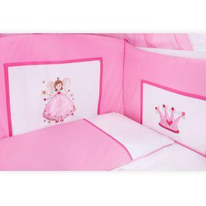 Babyzimmer Enni in weiss 10 tlg. mit 2 türigem Kl. + Textilien von Zauber Fee – Bild 6