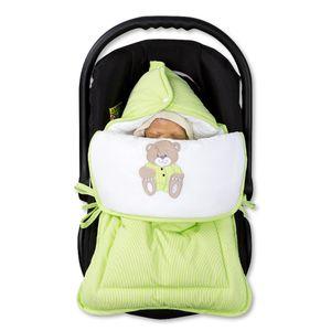 Hochglanz Babyzimmer Memi 19-tlg. mit Textilien Memi in Grün – Bild 15