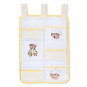 Hochglanz Babyzimmer Memi 19-tlg. mit Textilien von Little Bear in Gelb – Bild 12