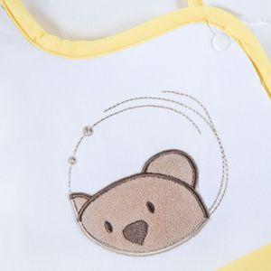 Hochglanz Babyzimmer Memi 19-tlg. mit Textilien von Little Bear in Gelb – Bild 14