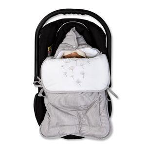 Hochglanz Babyzimmer Memi 19-tlg. mit Textilien von Blossom in Grau – Bild 16