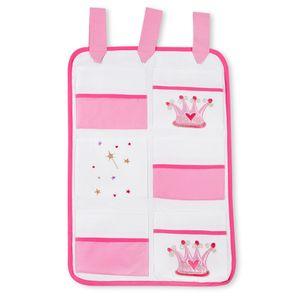 Hochglanz Babyzimmer Memi 19-tlg. mit Textilien von Zauber Fee in Rosa – Bild 13