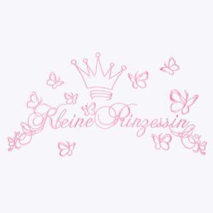 Babyzimmer Yves 19-tlg. mit 2 türigem Schrank + kl. Bett, Textilset Kleine Prinzessin in Rosa – Bild 6