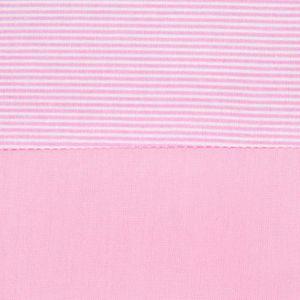 Babyzimmer Yves 19-tlg. mit 2 türigem Schrank + gr. Bett, Textilset Sleeping Bear in Rosa – Bild 14