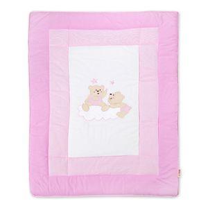 Babyzimmer Yves 19-tlg. mit 2 türigem Schrank + gr. Bett, Textilset von Joy in Rosa – Bild 14