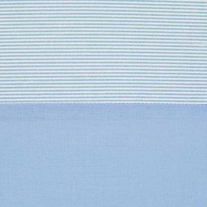 Babyzimmer Yves 19-tlg. mit 2 türigem Schrank + gr. Bett, Textilset Memi in Blau – Bild 14