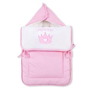 Babyzimmer Yves 19-tlg. mit 2 türigem Schrank + gr. Bett, Textilset Princess Rosa – Bild 9