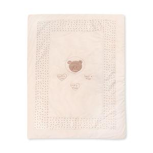 Babyzimmer Yves 19-tlg. mit 2 türigem Schrank + gr. Bett, Textilset von Cute Bear in Beige – Bild 15