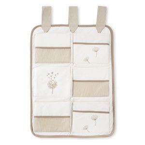 Babyzimmer Yves 19-tlg. mit 2 türigem Schrank + gr. Bett, Textilset von Blossom in Beige – Bild 8