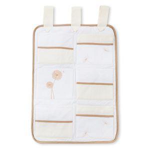 Babyzimmer Yves 19-tlg. mit 2 türigem Schrank + gr. Bett, Textilset von Elegance in Cream – Bild 8