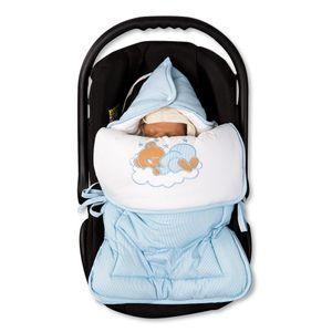 Babyzimmer 19-tlg. in Sonoma-Cream mit 2 türigem Kl. + Set Sleeping Bear Blau – Bild 15