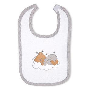 Babyzimmer 19-tlg. in Sonoma-Cream mit 2 türigem Kl. + Set Sleeping Bear Grau – Bild 24