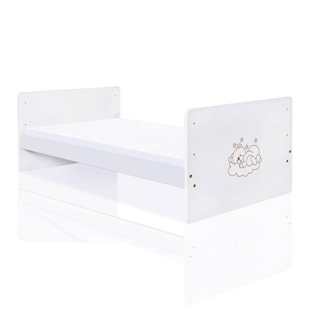 Babyzimmer 19 Tlg. In Weiß Mit 2 Türigem Kl. + Set Sleeping Bear