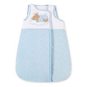 Babyzimmer 10-tlg. in Weiß mit 2 türigem Kl. + Set Sleeping Bear Blau – Bild 12